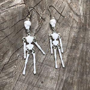 Spooky Skeleton Earrings!!